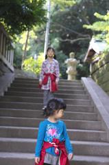 神社へ散歩