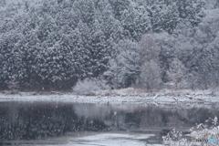 雪降りの景