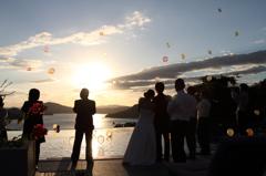 結婚式~風船