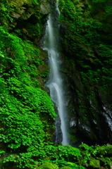 雨乞の滝(雄滝) 滝百選