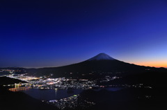 富士山 夕暮れ