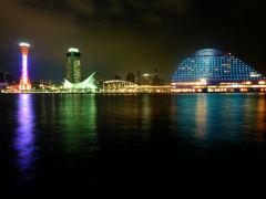神戸 モザイクからの夜景