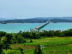 古宇利大橋 from 古宇利島