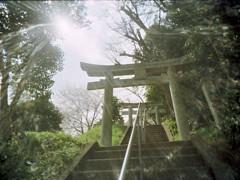 高台の神社2