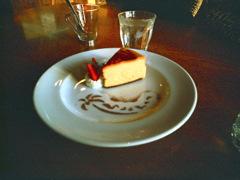 サンセットのケーキ