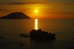 志賀島 夕景1