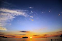 志賀島 夕景2