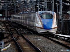 冬の軽井沢駅