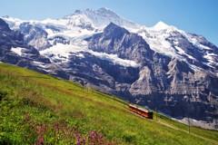 ユングフラウ×登山鉄道