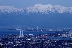 富山の本気(立山連峰を眺める)