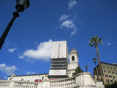 cielo di Piazza di Spagna