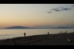 夕景:日本海2