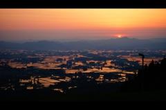 遠き山に日は落ち・・・