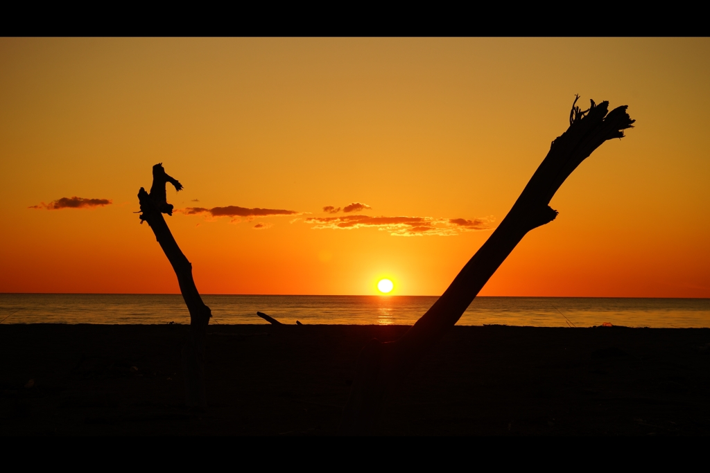 夕景:日本海1