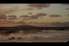 夕景日本海2