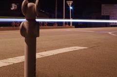 真夜中の国道