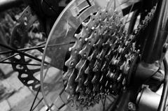 金属質の表現 変速ギア