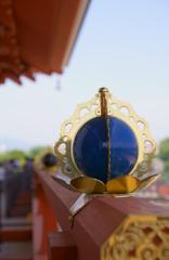 大極殿の青い玉