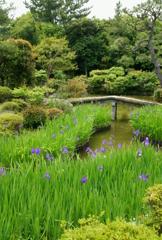 法華寺の庭園