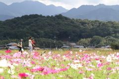 藤原京跡と天香久山