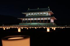 平城京 天平祭の灯
