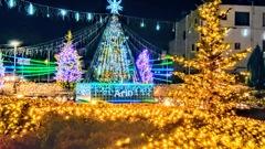 カラクリ・クリスマス アリオのイルミネーション点灯09