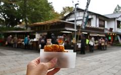 カメラと散歩 深大寺 食べる、食べる、食べる