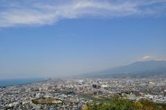 香貫山から富士・駿河を望む