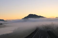 濃霧シーズン