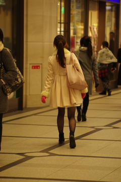 阪急前にて