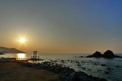 糸島の二見ケ浦