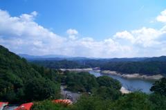 北山ダムの景色