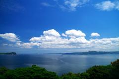 鷹島からの眺め