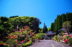 石仏と花の寺 鬼子岳城跡 法安寺