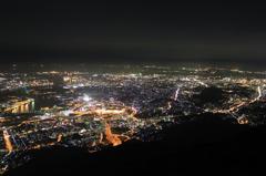 夜景 in 皿倉山