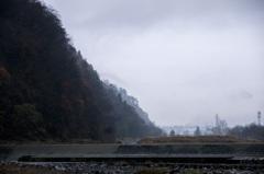 雨の水無川
