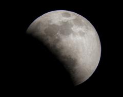 2011皆既月食 その1