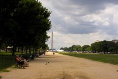 これが噂のワシントン記念塔