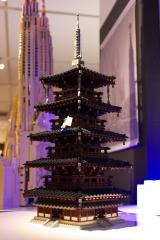 LEGO 法隆寺五重塔