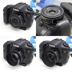 7D + EF40mm + レンズフード