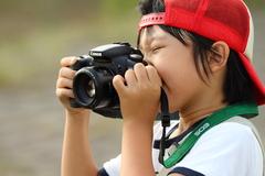 ちびっ子カメラマン