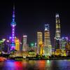 煌めく上海
