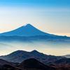 金峰山から望む富士山