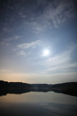 狭山湖の夜