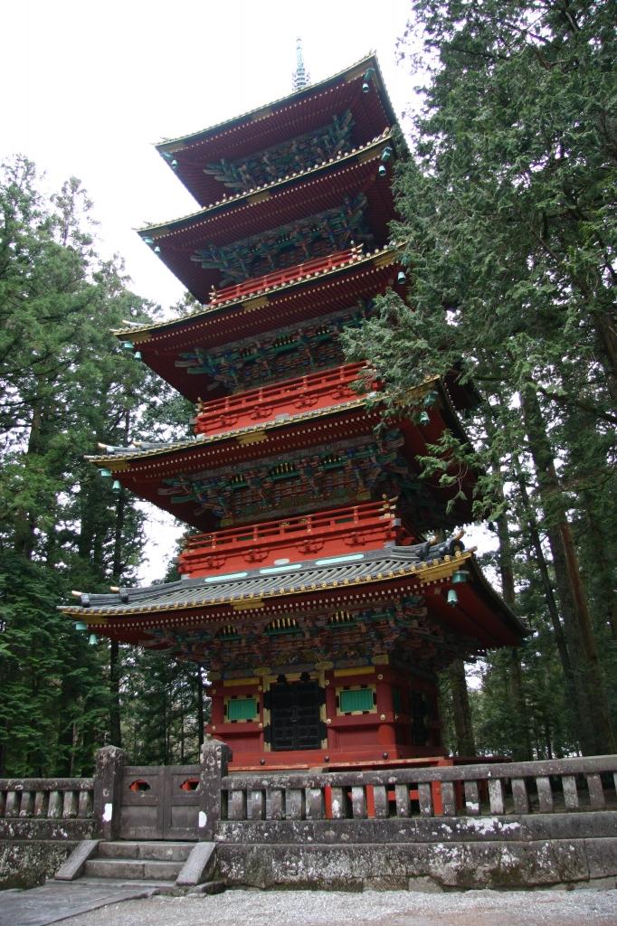 日光東照宮 五重の塔1