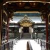 日光山輪王寺 大猷院 夜叉門から唐門を望む