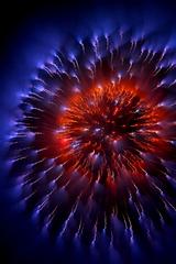 spark of fireworks