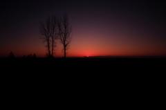 日が昇るとき