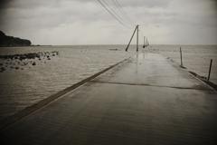 海に通じる道