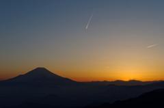彗星のような飛行機
